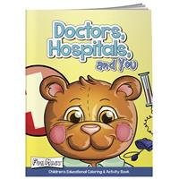Picture of Coloring Book w/ Mask: Doctors, Hospitals, and You