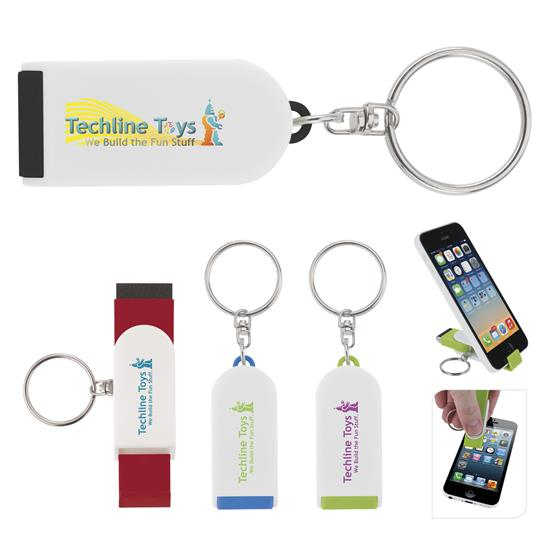 Picture of Phone Holder/Screen Cleaner Keychain