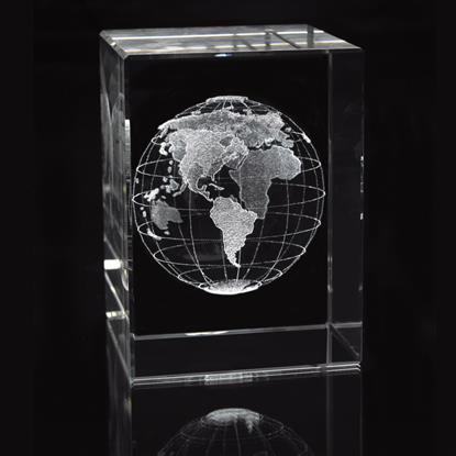 Picture of Medium Block - Globe