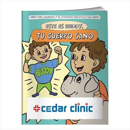 Picture of Coloring Book: Buddy Your Healthy Body (Spanish)