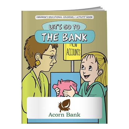 Picture of Coloring Book: Let's Go to the Bank