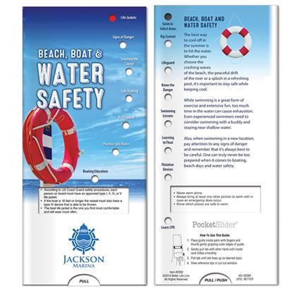 Picture of Pocket Slider: Beach, Boat and Water Safety