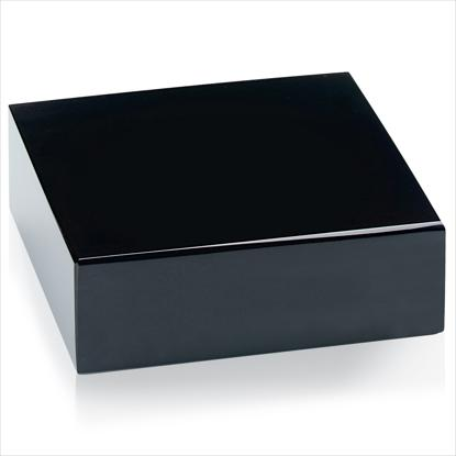 Picture of Black Glass Base