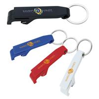 Picture of Plastic Bottle Opener Keychain