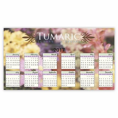 Picture of BIC® 30 Mil Calendar and Schedule Magnet