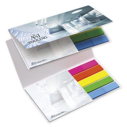 Picture of BIC® Mylar Flag and Notepad Booklet