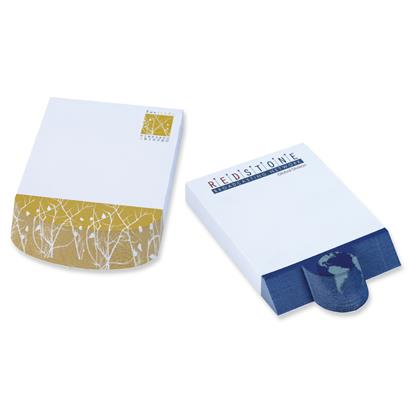"Picture of BIC® Ecolutions® 4"" x 6"" Adhesive Beveled Notepad"