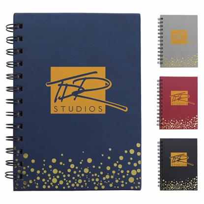 Picture of Metallic Dots Notebook
