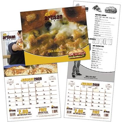 Picture of Custom Coupon Calendar