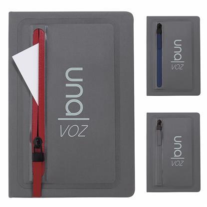 Picture of Sleek Zippered Pocket Journal