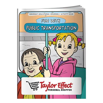 Picture of Coloring Book: Adventures in Public Transportation