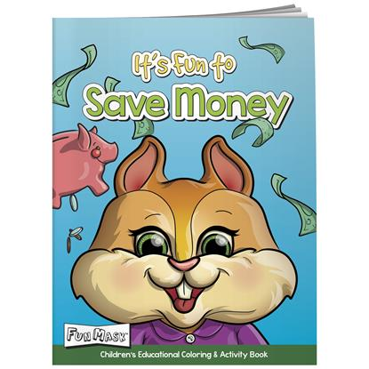 Picture of Coloring Book with Mask: It's Fun to Save Money