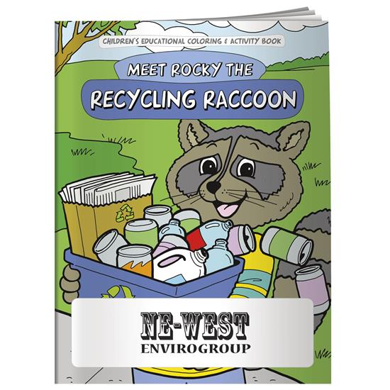 Picture of Coloring Book: Meet Rocky the Recycling Raccoon