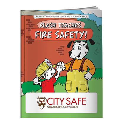 Picture of Coloring Book: Flash Teaches Fire Safety