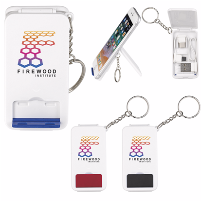 Picture of Keyring Multifunction Charging Cable with Stand