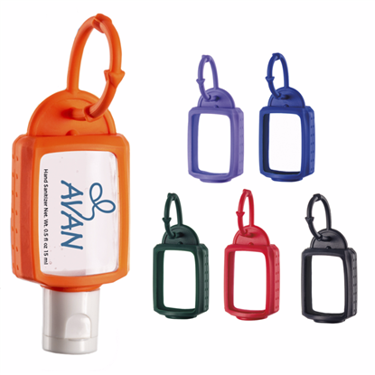 Picture of .5 oz. Hand Sanitizer with Silicone Leash