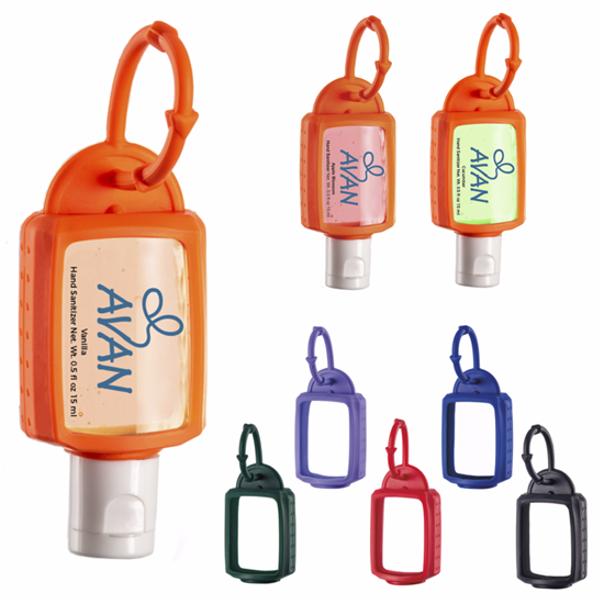 Picture of .5 oz. Hand Sanitizer with Silicone Leash - Scented