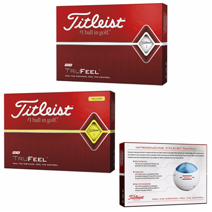 Picture of Titleist® TruFeel Golf Ball Standard Service