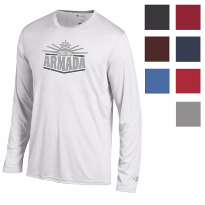 Picture of Champion® Men's Athletic Long Sleeve Tee