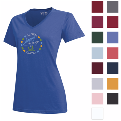 Picture of Gear for Sports® Women's Mia V-Neck Tee
