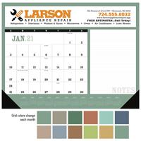 Calendar Image with Grid Colors