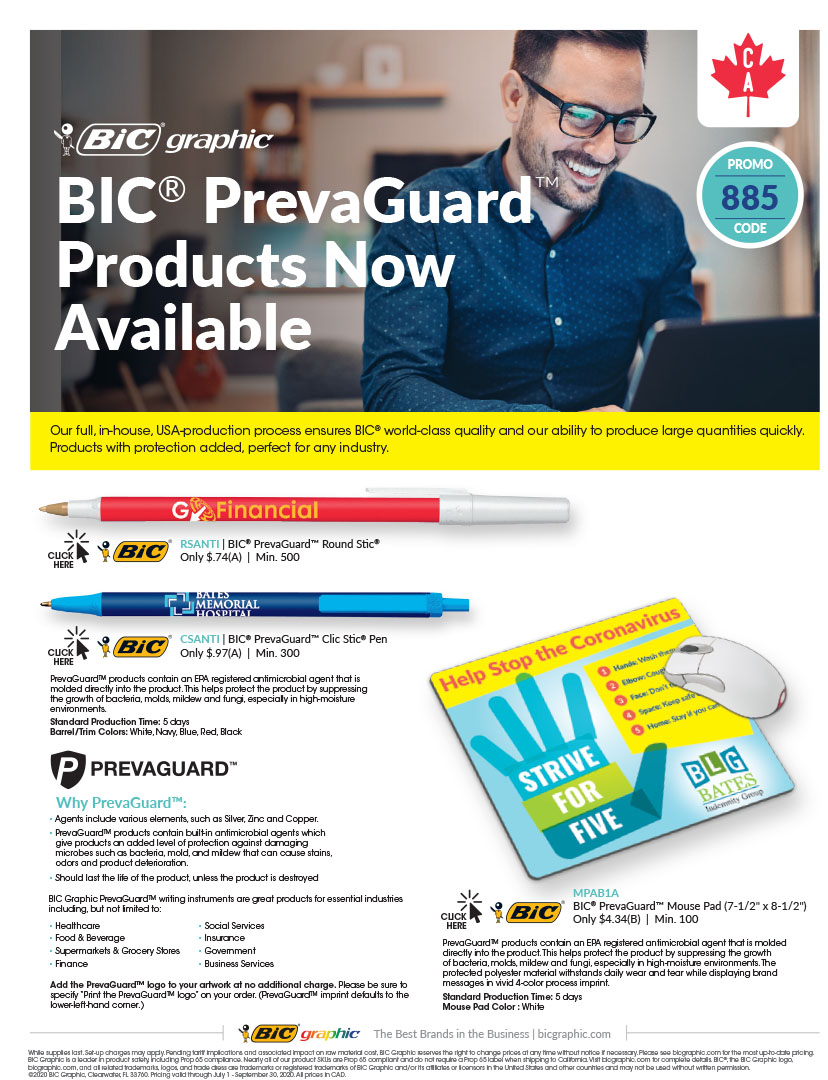 PrevaGuard Products Now Available